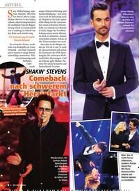 Titelbild der Ausgabe 52/2018 von SHAKIN' STEVENS: Comeback nach schwerem Herzinfarkt. Zeitschriften als Abo oder epaper bei United Kiosk online kaufen.