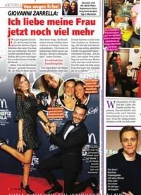 Titelbild der Ausgabe 52/2018 von GIOVANNI ZARRELLA: Ich liebe meine Frau jetzt noch viel mehr. Zeitschriften als Abo oder epaper bei United Kiosk online kaufen.