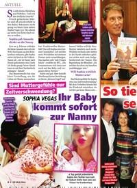 Titelbild der Ausgabe 8/2019 von SOPHIA VEGAS: Ihr Baby kommt sofort zur Nanny. Zeitschriften als Abo oder epaper bei United Kiosk online kaufen.