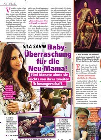 Titelbild der Ausgabe 8/2019 von SILA SAHIN: BabyÜberraschung für die Neu-Mama!. Zeitschriften als Abo oder epaper bei United Kiosk online kaufen.