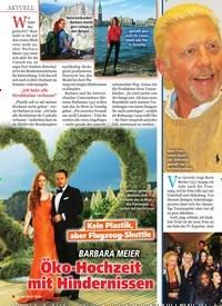 Titelbild der Ausgabe 13/2019 von Boris Becker: Nutzt die schöne Layla ihn nur aus?. Zeitschriften als Abo oder epaper bei United Kiosk online kaufen.