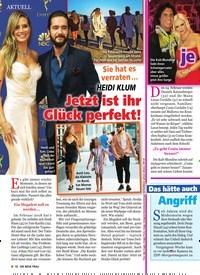 Titelbild der Ausgabe 13/2019 von Dunja Hayali: Angriff vor laufender Kamera. Zeitschriften als Abo oder epaper bei United Kiosk online kaufen.