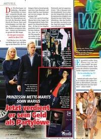 Titelbild der Ausgabe 14/2019 von PRINZESSIN METTE-MARITS SohN MARIuS: Jetzt verdient er sein Geld als Partylöwe. Zeitschriften als Abo oder epaper bei United Kiosk online kaufen.