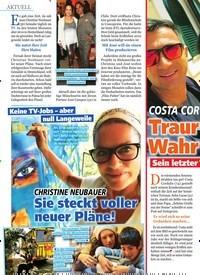 Titelbild der Ausgabe 16/2019 von COSTA COR DALIS: Traurige Wahr heit! Sein letzter großer Wunsch bleibt unerfüllt. Zeitschriften als Abo oder epaper bei United Kiosk online kaufen.