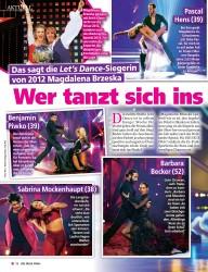 Titelbild der Ausgabe 18/2019 von Wer tanzt sich insFinale?. Zeitschriften als Abo oder epaper bei United Kiosk online kaufen.