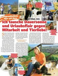 Titelbild der Ausgabe 18/2019 von LEBENSLINIEN: MYRNA (50): Ich tausche Dauersonne und Urlaubsflair gegen Mitarbeit und Tierliebe!. Zeitschriften als Abo oder epaper bei United Kiosk online kaufen.