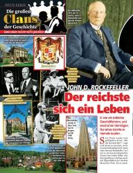 Titelbild der Ausgabe 18/2019 von NEUE SERIE: JOHN D. ROCKEFELLERL: Der reichste Mann der Welt schämte sich ein Leben lang für seinen Vater. Zeitschriften als Abo oder epaper bei United Kiosk online kaufen.