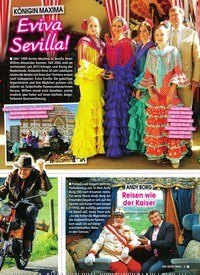 Titelbild der Ausgabe 22/2019 von KÖNIGIN MAXIMA: Eviva Sevilla!. Zeitschriften als Abo oder epaper bei United Kiosk online kaufen.