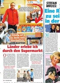 Titelbild der Ausgabe 22/2019 von DIRK MARTENS: Länder erlebe ich durch den Supermarkt. Zeitschriften als Abo oder epaper bei United Kiosk online kaufen.