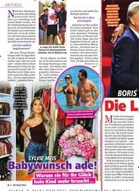 Titelbild der Ausgabe 42/2019 von BORIS & BABS BECKER: Die Liebe ist zurück!. Zeitschriften als Abo oder epaper bei United Kiosk online kaufen.
