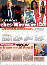 Titelbild der Ausgabe 44/2019 von BORIS BECKER:Liebes-Wirrwarr!. Zeitschriften als Abo oder epaper bei United Kiosk online kaufen.