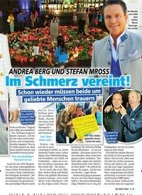 Titelbild der Ausgabe 44/2019 von ANDREA BERG UND STEFAN MROSS: Im Schmerz vereint!. Zeitschriften als Abo oder epaper bei United Kiosk online kaufen.