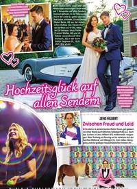 Titelbild der Ausgabe 45/2019 von Hochzeitsglück auf allen Sendern. Zeitschriften als Abo oder epaper bei United Kiosk online kaufen.