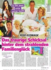 Titelbild der Ausgabe 49/2019 von PEER KUSMAGK: Das traurige Schicksal hinter dem strahlenden Familienglück. Zeitschriften als Abo oder epaper bei United Kiosk online kaufen.