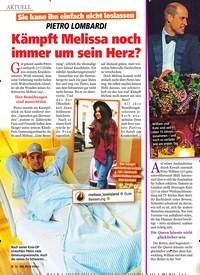 Titelbild der Ausgabe 51/2019 von PIETRO LOMBARDI: Kämpft Melissa noch immer um sein Herz?. Zeitschriften als Abo oder epaper bei United Kiosk online kaufen.