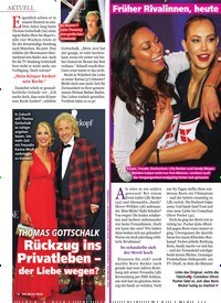 Titelbild der Ausgabe 51/2019 von THOMAS GOTTSCHALK: Rückzug ins Privatleben – der Liebe wegen?. Zeitschriften als Abo oder epaper bei United Kiosk online kaufen.