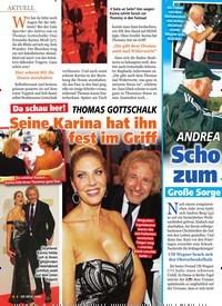 Titelbild der Ausgabe 1/2020 von ANDREA BERG Schock-Nachricht zum Fest der Liebe. Zeitschriften als Abo oder epaper bei United Kiosk online kaufen.