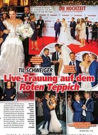 Titelbild der Ausgabe 6/2020 von TIL SCHWEIGER: Live-Trauung auf dem Roten Teppich. Zeitschriften als Abo oder epaper bei United Kiosk online kaufen.