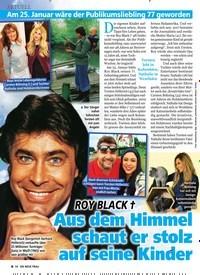 Titelbild der Ausgabe 6/2020 von ROY BLACK †: Aus dem Himmel schaut er stolz auf seine Kinder. Zeitschriften als Abo oder epaper bei United Kiosk online kaufen.
