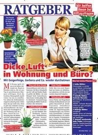 Titelbild der Ausgabe 6/2020 von Dicke Luft in Wohnung und Büro?. Zeitschriften als Abo oder epaper bei United Kiosk online kaufen.