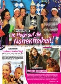 Titelbild der Ausgabe 9/2020 von OLIVER POCHER:Ein Hoch auf die Narrenfreiheit!. Zeitschriften als Abo oder epaper bei United Kiosk online kaufen.