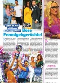 Titelbild der Ausgabe 9/2020 von OTLILE MABUSE: Böse Fremdgehgerüchte!. Zeitschriften als Abo oder epaper bei United Kiosk online kaufen.