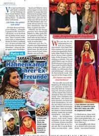 Titelbild der Ausgabe 9/2020 von SARAH LOMBARDI: Hahnenkampf ihrer Ex- Freunde. Zeitschriften als Abo oder epaper bei United Kiosk online kaufen.