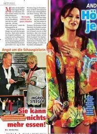 Titelbild der Ausgabe 12/2020 von Angst um die Schauspielerin: INGRID STEEGER: Sie kann nichts mehr essen!. Zeitschriften als Abo oder epaper bei United Kiosk online kaufen.
