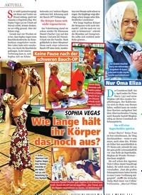 Titelbild der Ausgabe 12/2020 von Keine Pause nach der schweren Bauch-OP: SOPHIA VEGAS: Wie lange hält ihr Körper das noch aus?. Zeitschriften als Abo oder epaper bei United Kiosk online kaufen.