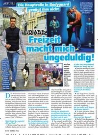 Titelbild der Ausgabe 12/2020 von Die Hauptrolle in Bodyguard genügt ihm nicht: JO WEIL: Freizeit macht mich ungeduldig!. Zeitschriften als Abo oder epaper bei United Kiosk online kaufen.