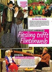 Titelbild der Ausgabe 13/2020 von SASCHA HEHN & KATY KARRENBAUER: Fiesling trifft Flintenweib. Zeitschriften als Abo oder epaper bei United Kiosk online kaufen.