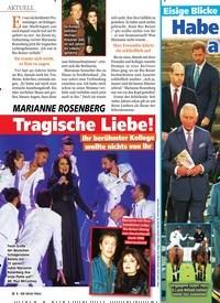 Titelbild der Ausgabe 13/2020 von MARIANNE ROSENBERG: Tragische Liebe!. Zeitschriften als Abo oder epaper bei United Kiosk online kaufen.