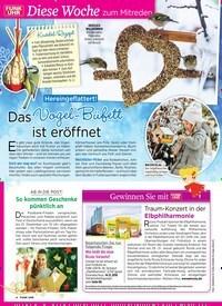 Titelbild der Ausgabe 49/2018 von Gewinnen Sie mit: Traum-Konzert in der Elbphilharmonie. Zeitschriften als Abo oder epaper bei United Kiosk online kaufen.