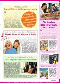 Titelbild der Ausgabe 49/2018 von Fröhliche Stunden mit der Familie: DIE BESTEN BRETTSPIE LE DES JAHRES. Zeitschriften als Abo oder epaper bei United Kiosk online kaufen.