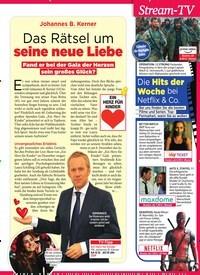 Titelbild der Ausgabe 49/2018 von Das Rätsel um seine neue Liebe. Zeitschriften als Abo oder epaper bei United Kiosk online kaufen.