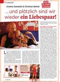 Titelbild der Ausgabe 50/2018 von TV-Aktuell: Andrea Sawatzki & Christian Berkel: … und plötzlich sind wir wieder ein Liebespaar!. Zeitschriften als Abo oder epaper bei United Kiosk online kaufen.