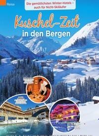 Titelbild der Ausgabe 50/2018 von Reise: Kuschel-Zeit in den Bergen. Zeitschriften als Abo oder epaper bei United Kiosk online kaufen.