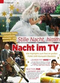 Titelbild der Ausgabe 51/2018 von TV-Aktuell: Stille Nacht, himm lische: Nacht im TV. Zeitschriften als Abo oder epaper bei United Kiosk online kaufen.