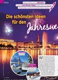 Titelbild der Ausgabe 51/2018 von Reise: Die schönsten Ideen für den Jahreswechsel. Zeitschriften als Abo oder epaper bei United Kiosk online kaufen.