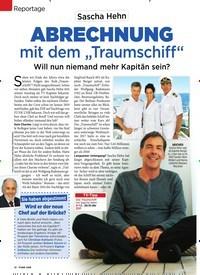 """Titelbild der Ausgabe 52/2018 von Reportage: Sascha Hehn: Abrechnung mit dem """"Traumschiff"""". Zeitschriften als Abo oder epaper bei United Kiosk online kaufen."""