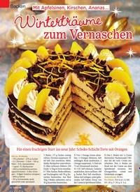Titelbild der Ausgabe 52/2018 von Backen: Mit Apfelsinen, Kirschen, Ananas …: Winterträume zum Vernaschen. Zeitschriften als Abo oder epaper bei United Kiosk online kaufen.
