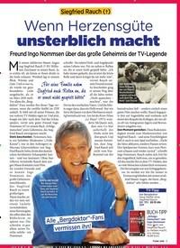 Titelbild der Ausgabe 2/2019 von Siegfried Rauch (†):Wenn Herzensgüte unsterblich macht. Zeitschriften als Abo oder epaper bei United Kiosk online kaufen.