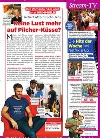 Titelbild der Ausgabe 3/2019 von Der Romantik-Star wird jetzt Krimi-Held: Robert Atzorns Sohn Jens: Keine Lust mehr auf Pilcher-Küsse?. Zeitschriften als Abo oder epaper bei United Kiosk online kaufen.