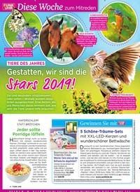 Titelbild der Ausgabe 6/2019 von Tiere des Jahres: Gestatten, wir sind die: Stars 2019!. Zeitschriften als Abo oder epaper bei United Kiosk online kaufen.
