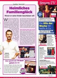 Titelbild der Ausgabe 6/2019 von Steffen Henssler: Heimliches Familienglück. Zeitschriften als Abo oder epaper bei United Kiosk online kaufen.