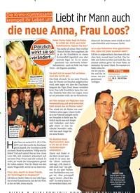 Titelbild der Ausgabe 7/2019 von Liebt ihr Mann auch die neue Anna, Frau Loos?. Zeitschriften als Abo oder epaper bei United Kiosk online kaufen.