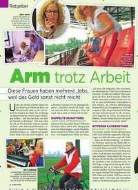 Titelbild der Ausgabe 7/2019 von Arm trotz Arbeit. Zeitschriften als Abo oder epaper bei United Kiosk online kaufen.