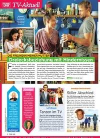 Titelbild der Ausgabe 10/2019 von TV-Aktuell: Die Freundin meiner Mutter: Dreiecksbeziehung mit Hindernissen. Zeitschriften als Abo oder epaper bei United Kiosk online kaufen.