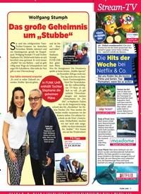 """Titelbild der Ausgabe 13/2019 von Wolfgang Stumph: Das große Geheimnis um """"Stubbe"""". Zeitschriften als Abo oder epaper bei United Kiosk online kaufen."""