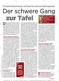 Titelbild der Ausgabe 13/2019 von Der schwere Gang zur Tafel. Zeitschriften als Abo oder epaper bei United Kiosk online kaufen.